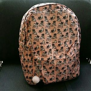 Handbags - Pug backpack
